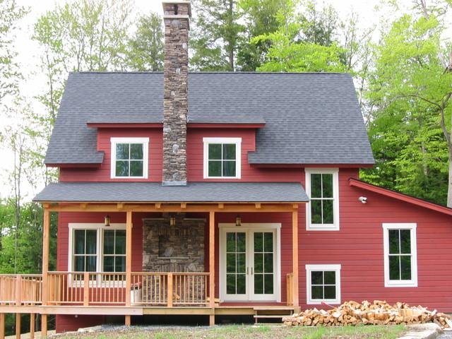 Brideson Family Country Home farmhouse-exterior
