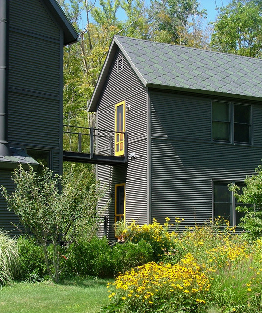 Bridge House In Williamstown MA Contemporary Exterior Other