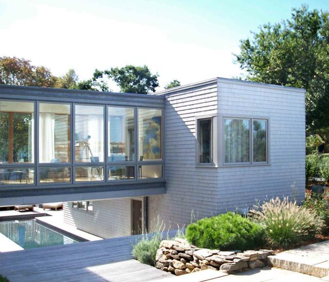 Bridge House contemporary-exterior