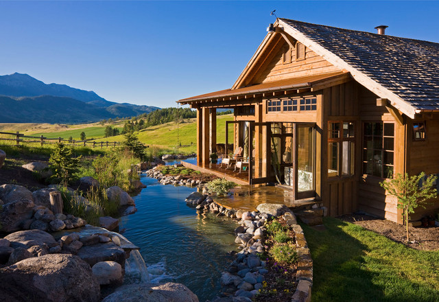 Bridger Canyon Residence - Rustic - Exterior - other metro - by Locati Architects