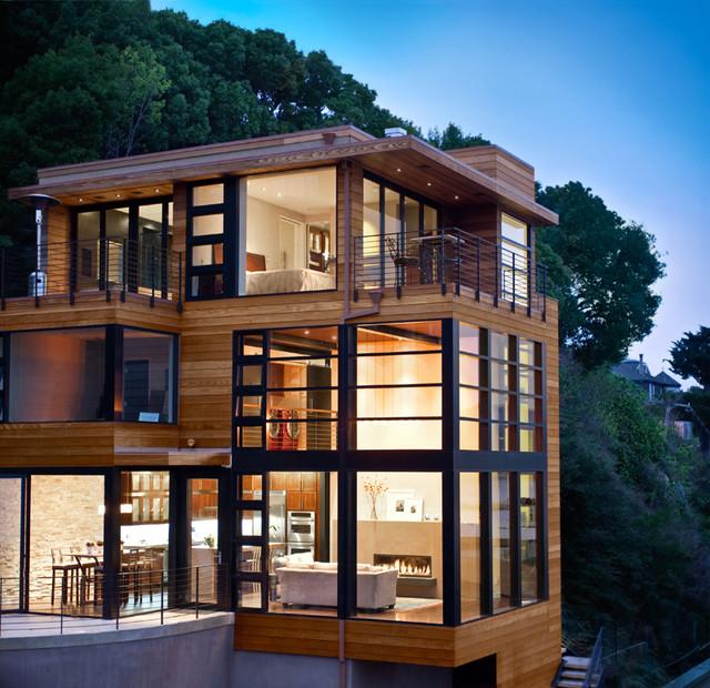Bridgeway Cliff House, Michael Rex Associates