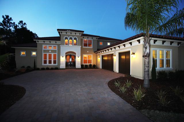 Broadmoor Mediterranean Exterior Jacksonville By