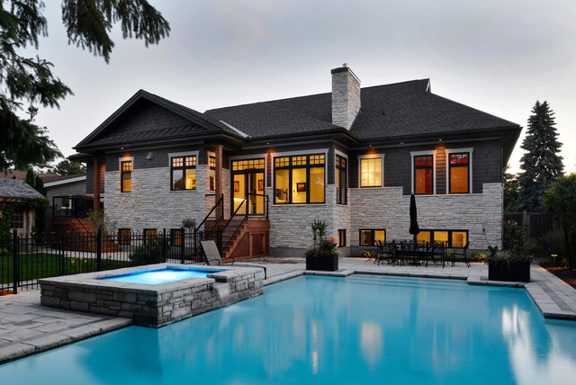 Broadmoor ottawa project craftsman exterior for Exterior by design ottawa