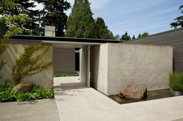 Broadmoor Residence Modern Exterior Seattle By