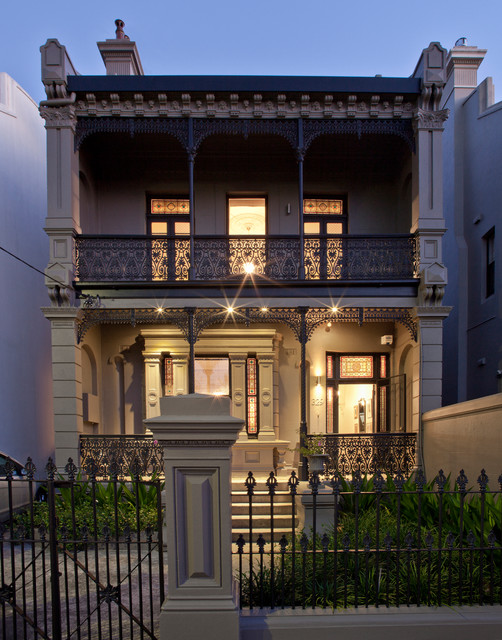 Bronte freestanding terrace victorian exterior for Season 2 terrace house