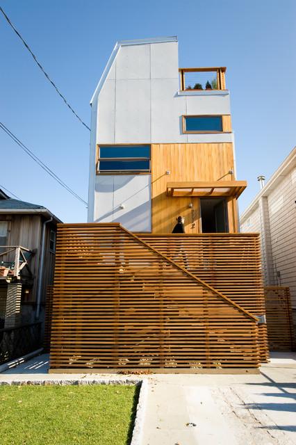 Bronx Box - exterior contemporary-exterior