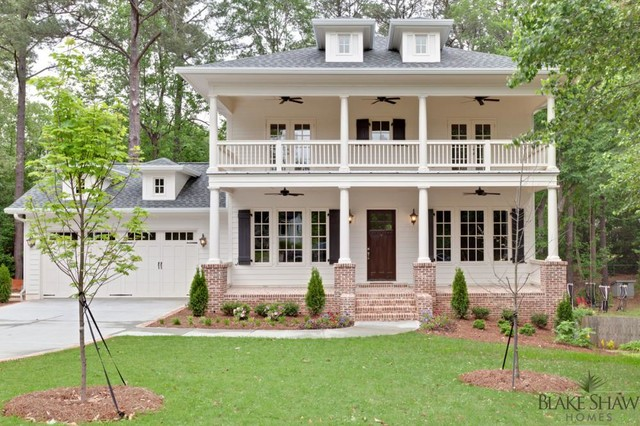 Brookhaven custom home southern traditional for Brick traditional homes