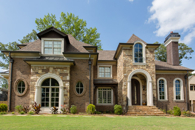 Brookhaven Custom Home Traditional Exterior Atlanta