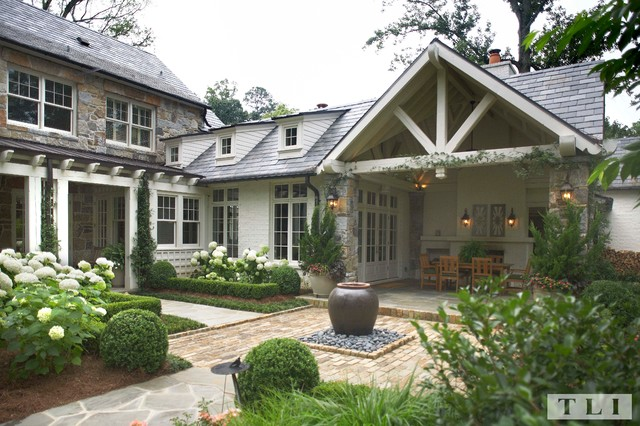 Brookhaven Estate Traditional Exterior Atlanta By