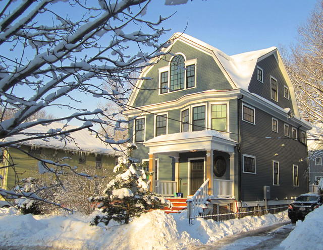 Brookline Whole House Reconstruction Traditional
