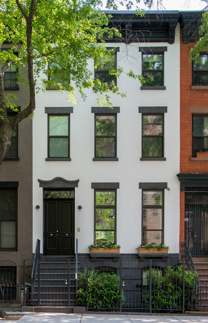 Brooklyn brownstone traditional exterior portland Brooklyn brownstone interior