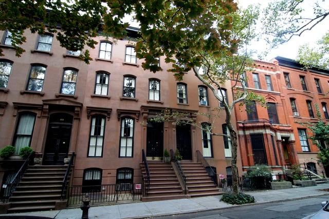 Brooklyn Brownstone Wood Floors Traditional Exterior