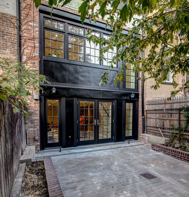 Brooklyn townhouse traditional exterior new york for Townhomes for sale in nyc