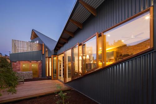 Tipos de revestimientos exteriores en steel frame for Revestimiento exterior zinc