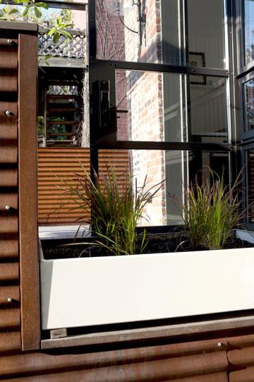 Buena Vista Street Row House contemporary-exterior