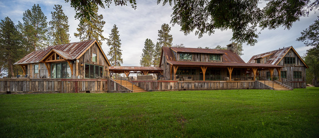 Building belushi project rustic exterior other for Building a house in oregon