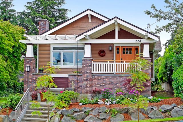 Built Green Craftsman craftsman-exterior