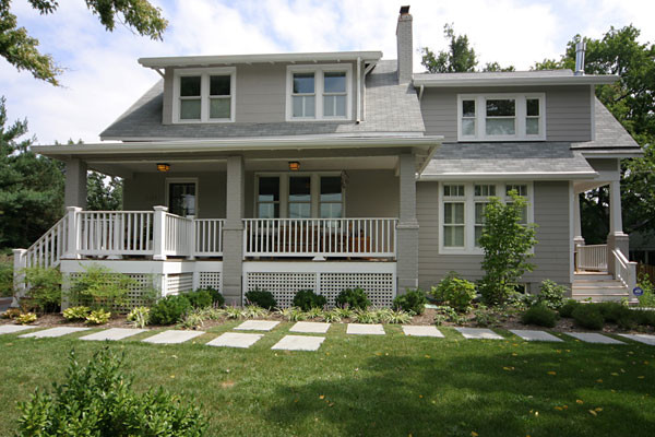 Bungalow Addition Craftsman Exterior Dc Metro By