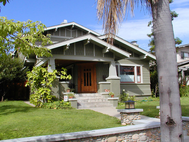 traditional exterior bungalow