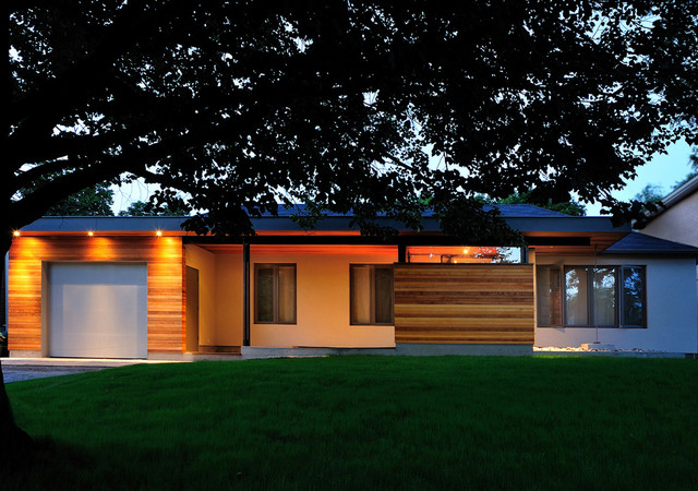 Bungalow Renovation Contemporary Exterior Toronto