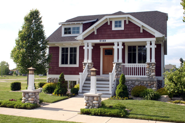 Bungalow style home traditional exterior grand - What is a bungalow style home ...
