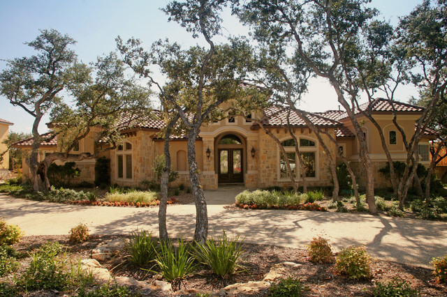 Burdick custom homes mediterranean exterior other for Custom mediterranean homes