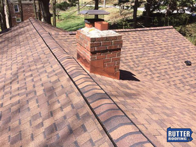 Burnt Sienna Shingles Traditional Exterior