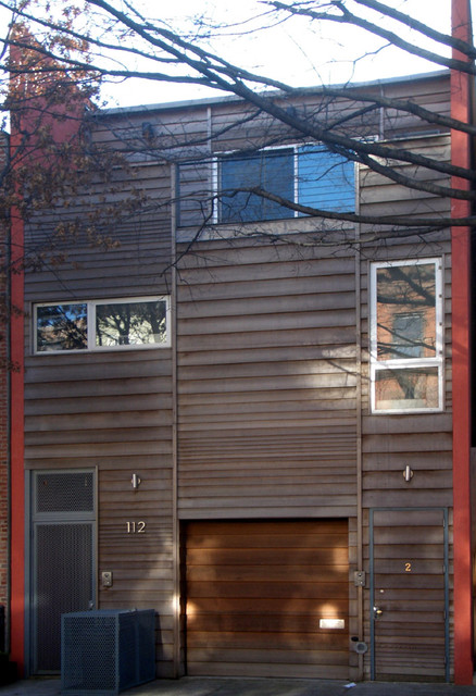 Butler Street Residence in Brooklyn by Tina Manis contemporary-exterior