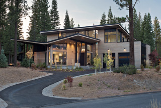 Butterfly Cabin - Contemporary - Exterior - sacramento - by Ward-Young Architecture & Planning ...