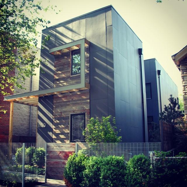 C3prefab v1 1 modern exterior chicago by square for Modern design building services ltd