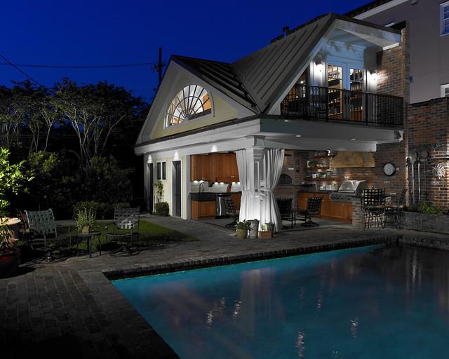 Cabana traditional-exterior