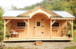 Cabin Kits Amp Cottage Kits Gibraltar Cabin 12 X 20