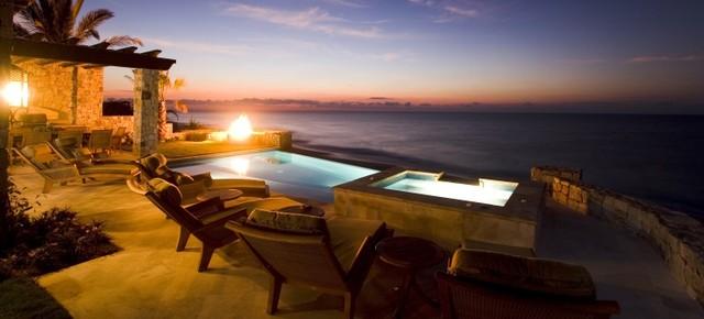 Cabo San Lucas Beach Villas mediterranean-exterior