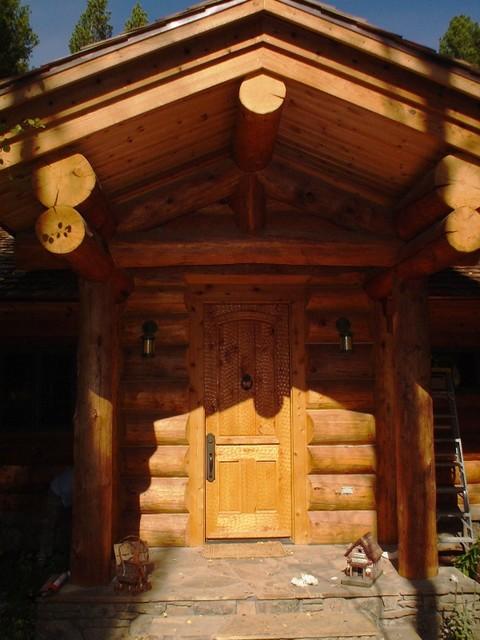 Caddis Fly Cabin exterior rustic-exterior