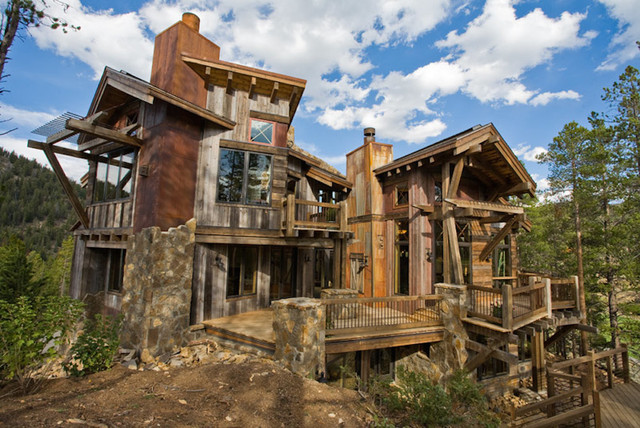 1000 images about mining style on pinterest for Mountain home designs colorado