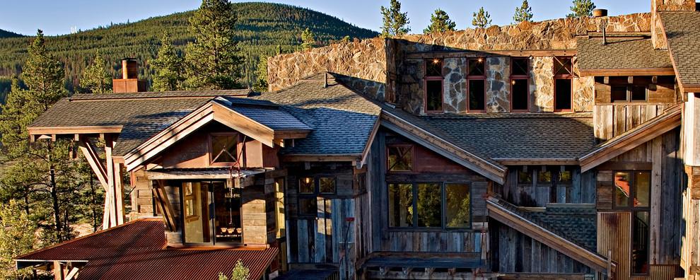 Calecho Breckenridge Colorado Mining Theme Home - Rustic ...