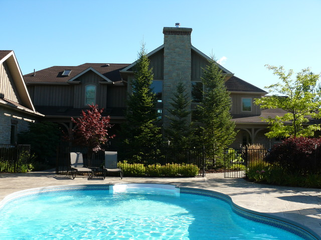 Caledon Country Living transitional-exterior