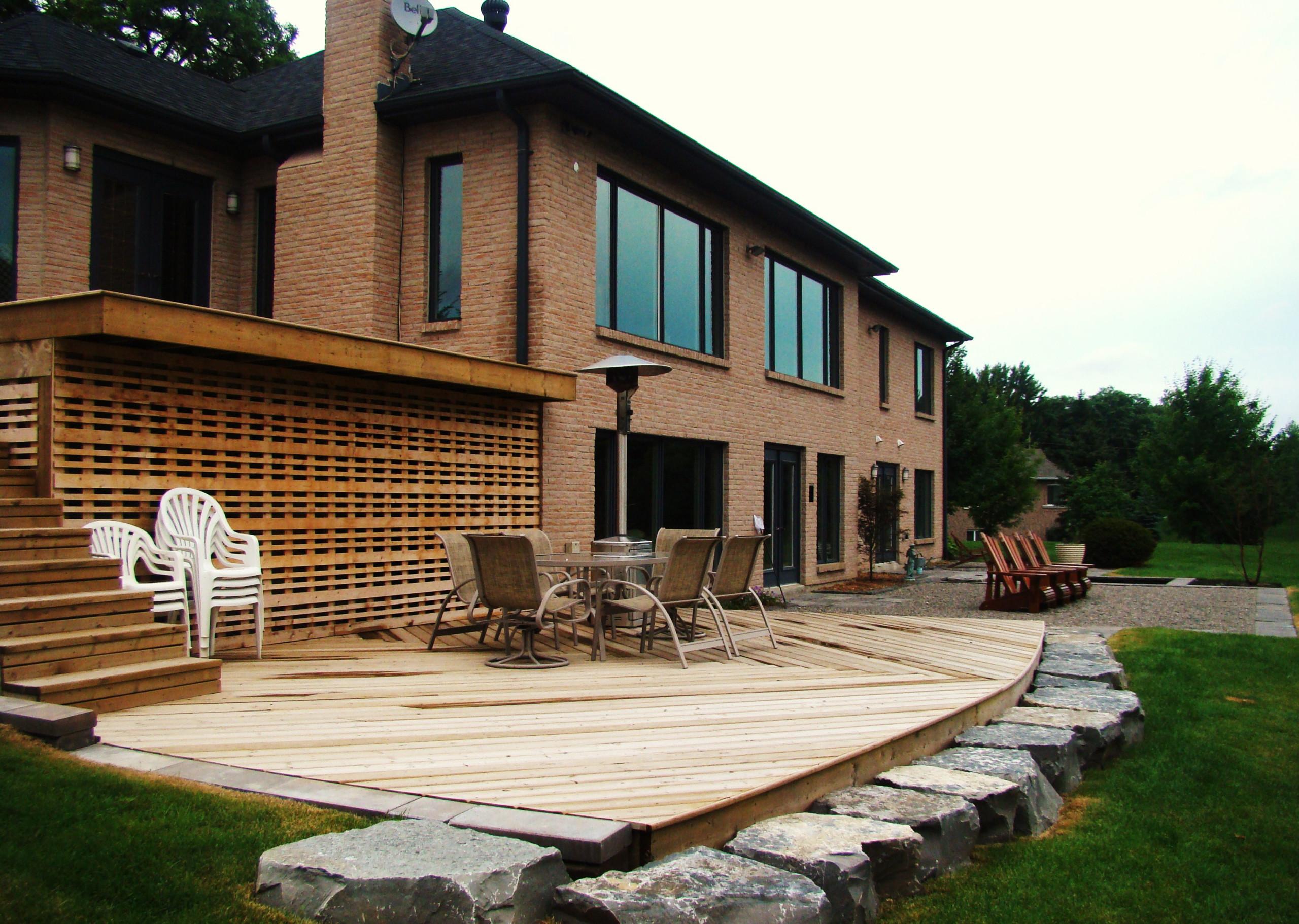 Caledon estate landscaping