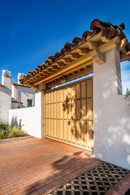 California Backyard and Patio mediterranean-exterior