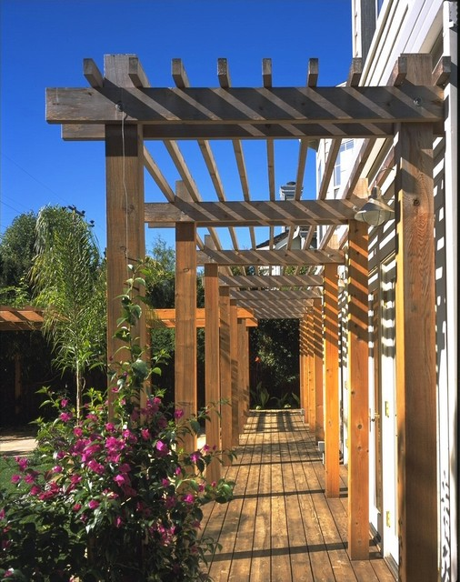 California Dreamin'-Trellis and Exterior contemporary-exterior