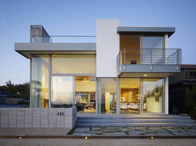 Modern Two Story House Plans | Houzz