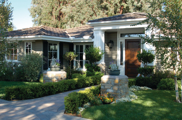 California ranch replacement windows for California ranch style architecture