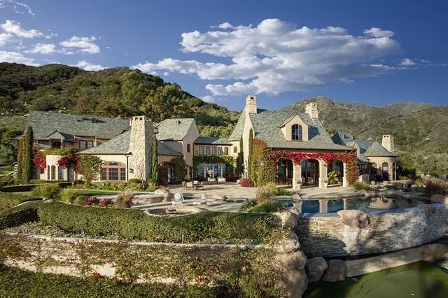 California Residence traditional-exterior