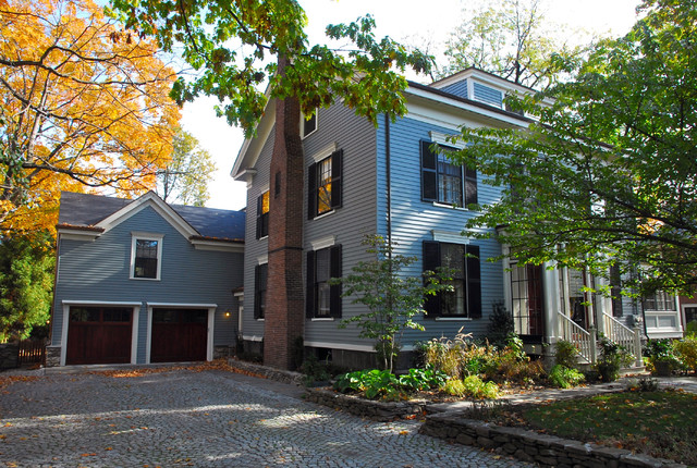 Cambridge Addition & Renovation traditional-exterior