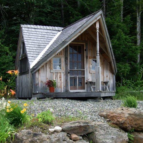 Camp Cottage Cabin Kits Writers Haven Scandinavian