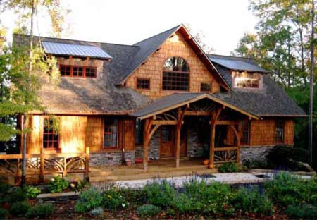 Camp stone traditional exterior atlanta by max for Camp stone