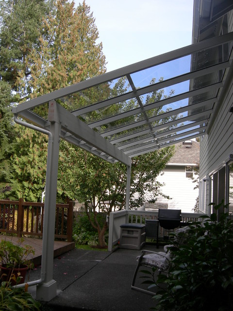 Canopies & Porch Covers contemporary-exterior