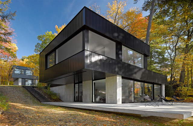 Cantilever House- Lakeside, VT