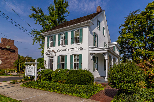 Canton Custom Homes Office traditional-exterior