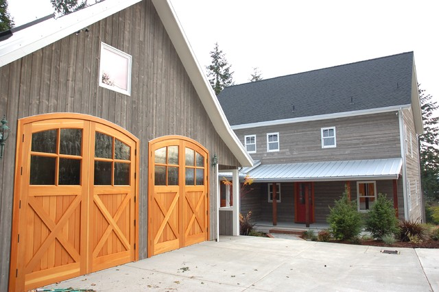 Cape cod real carriage door co traditional shed for Cape cod garage doors